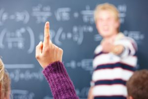 Education – I know the answer , Womans finger